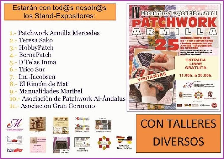 STAND-EXPOSITORES PARTICIPANTES 25-Mayo-2013. CON TALLERES DIVERSOS PARA LOS VISITANTES.