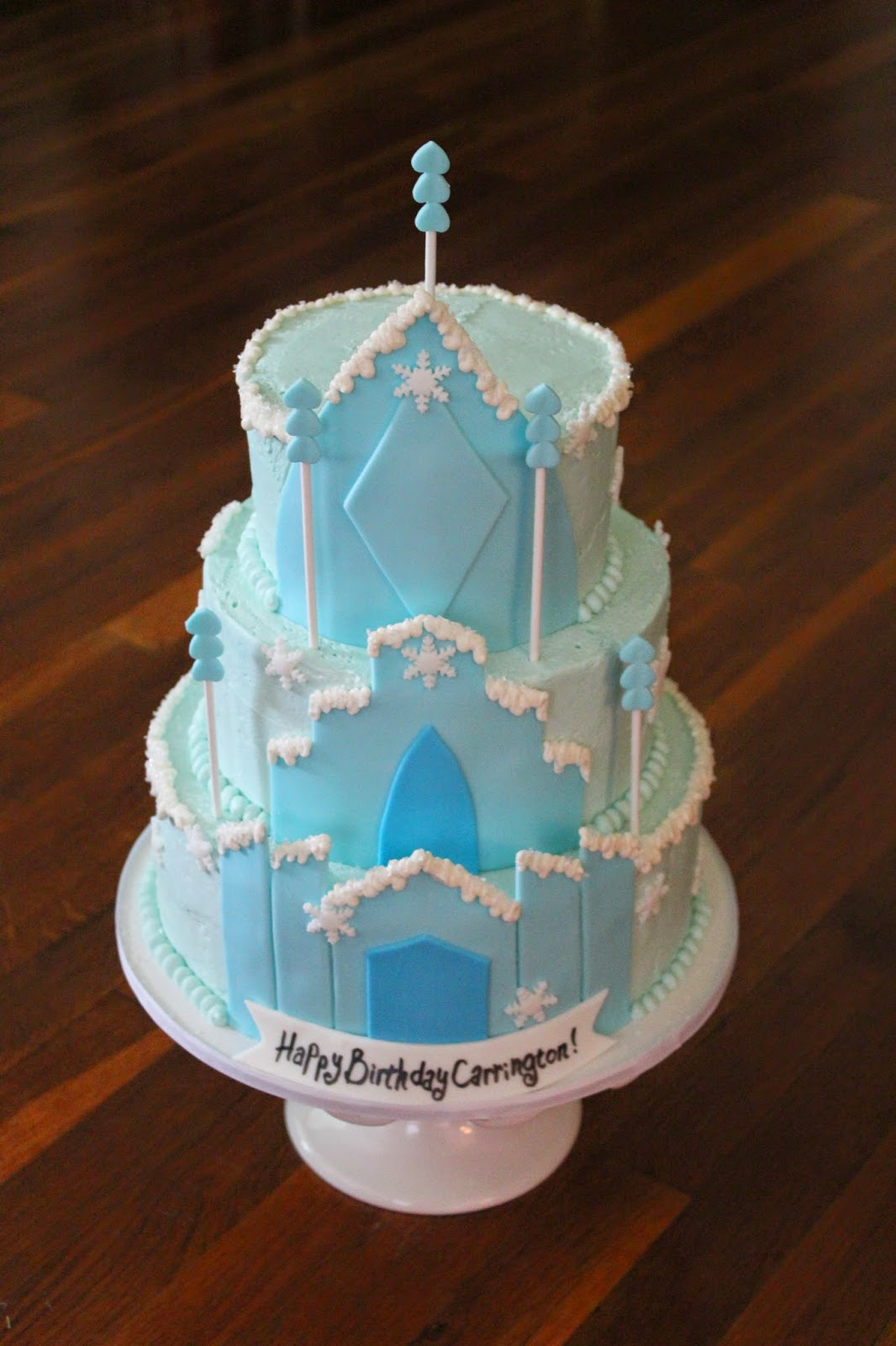 Birthday Cakes For Frozen ~ Cakes by becky frozen birthday