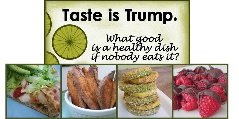 Taste is Trump.