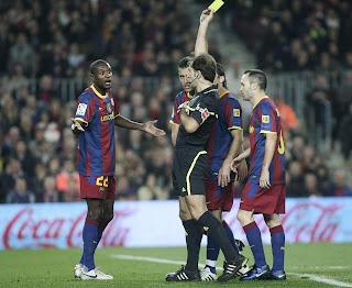 Barcelona será Premiado por su juego Limpio