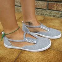 Schuhe für den Sommer: Sandalen-Sneaker selber machen!