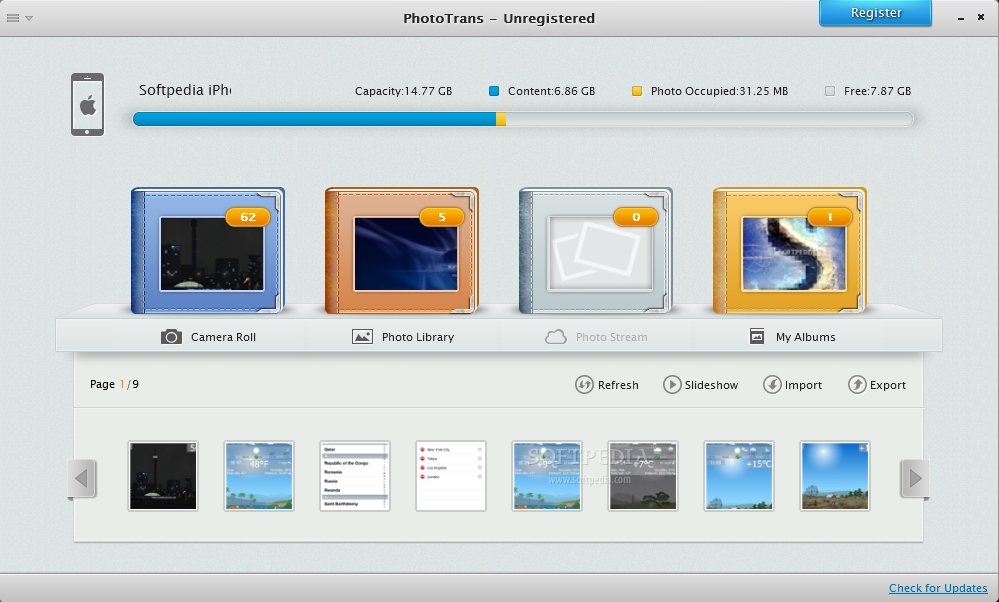 how to add photo albums to iphone from pc