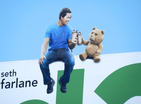 Ted 2 special extension billboard