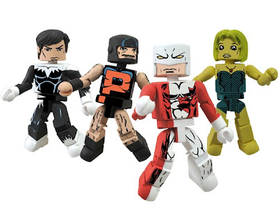 San Diego Comic-Con 2012 Exclusive Alpha Flight Marvel Minimates Box Set #1 - Northstar, Puck, Guardian & Marrina