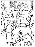 Gambar Hulk Dan Kekasihnya Ditengah Hutan