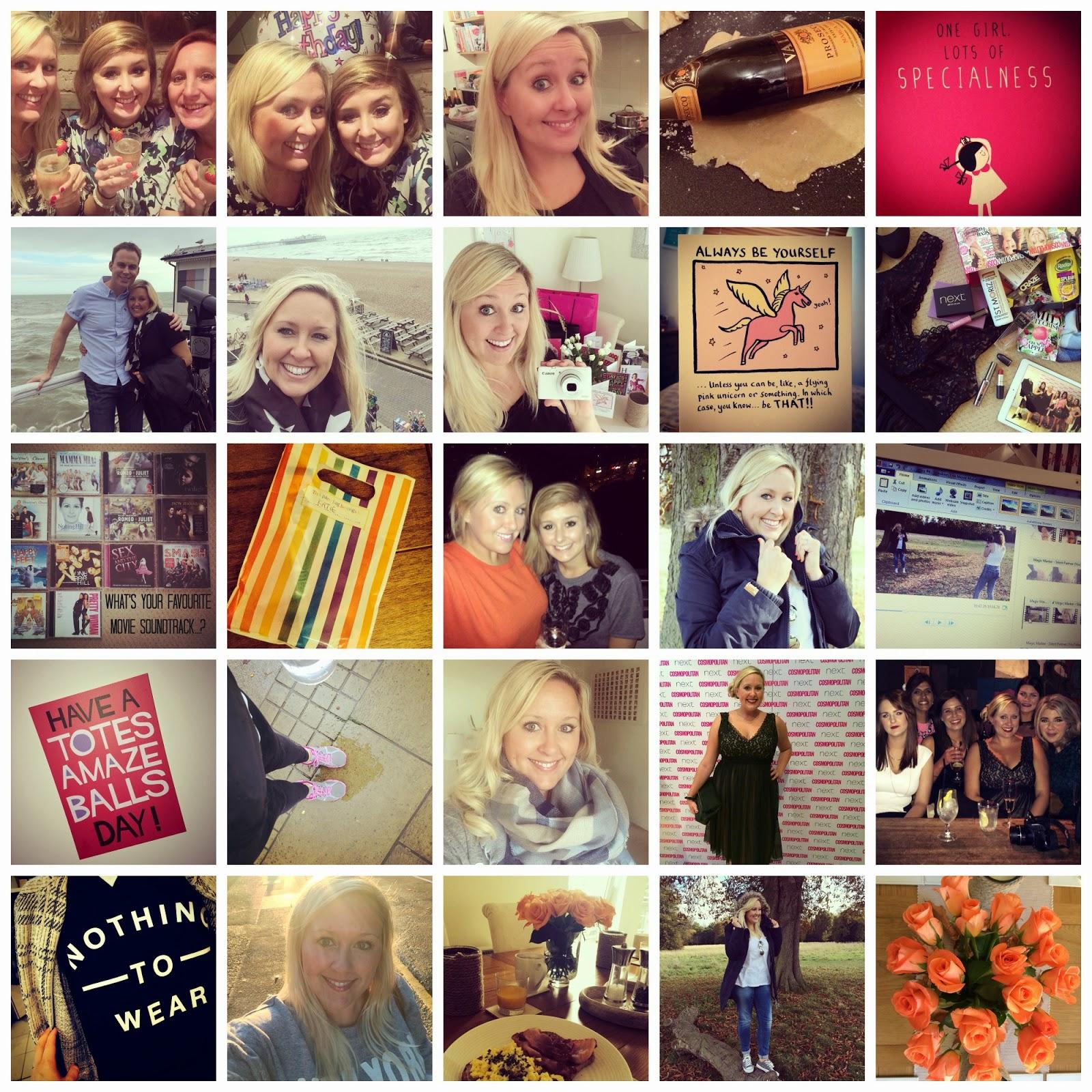 October Instagram Diary...