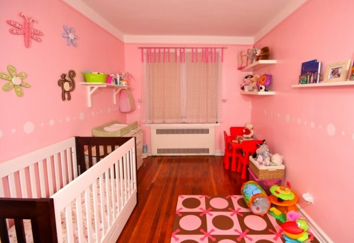 Baby nursery wall paint ideas for Baby wall mural ideas