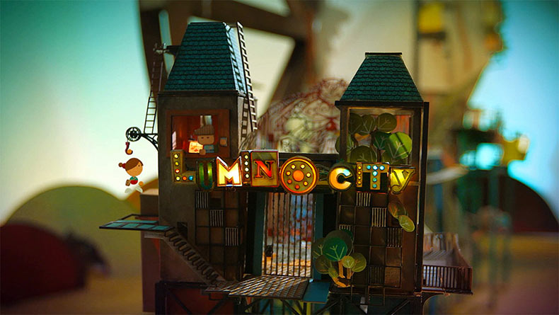 Lumino City: Un video juego hecho de papel por State of Play