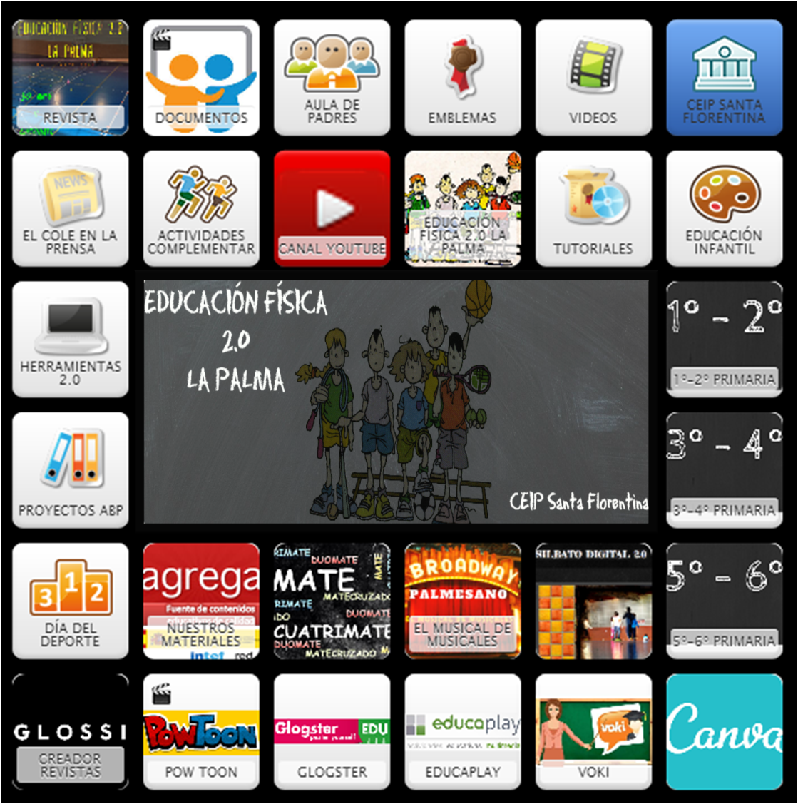 Recursos Tic EF 2.0 La Palma