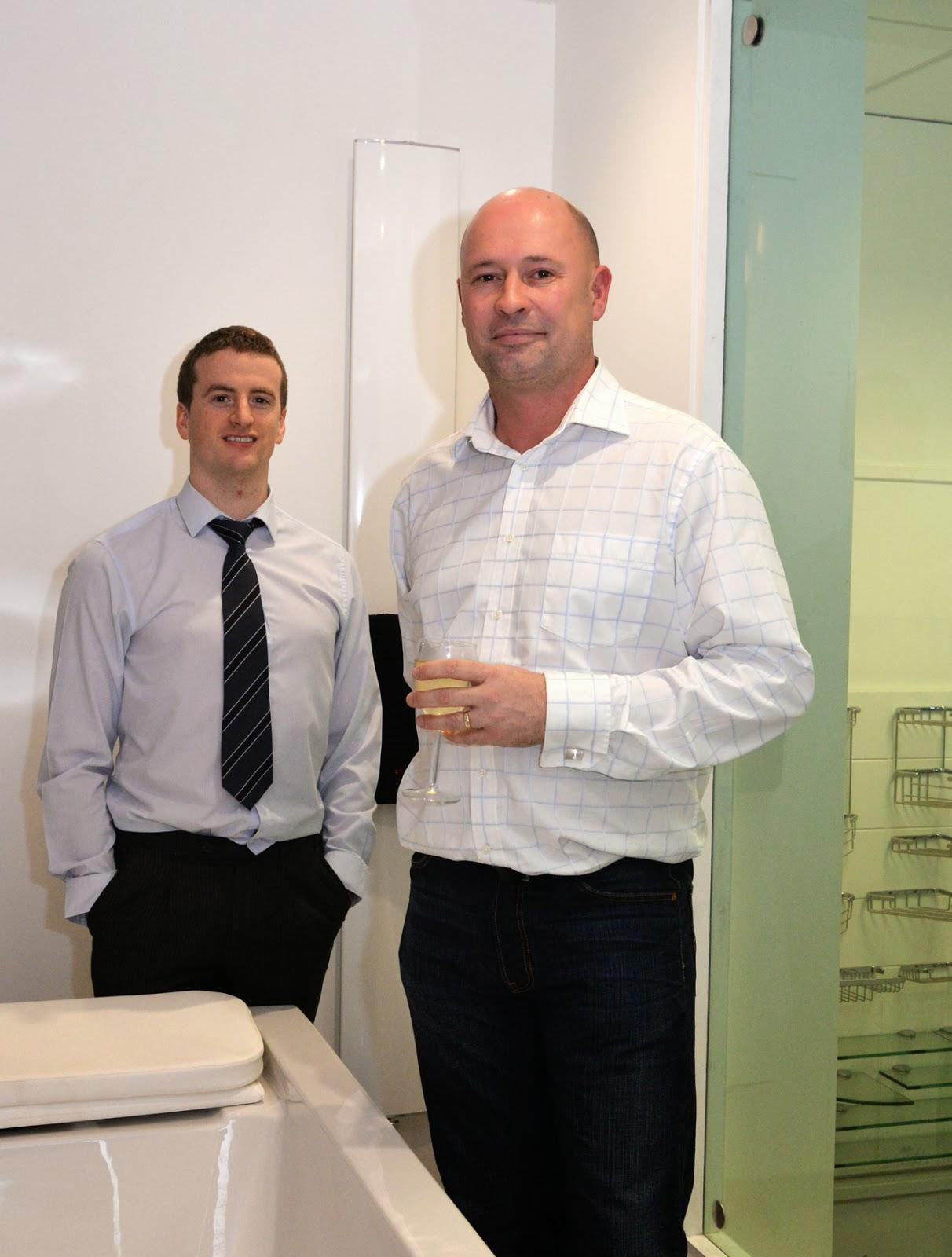 Symon Construction Management Team Darren Knapp Neil Melvin