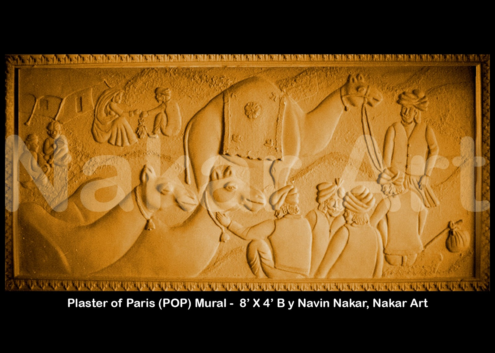 Navin nakar: Mural, Wall Art Decorations by me - Plaster of Paris ...