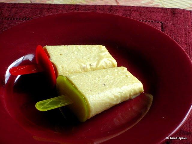 Mango Rabdi Kulfi