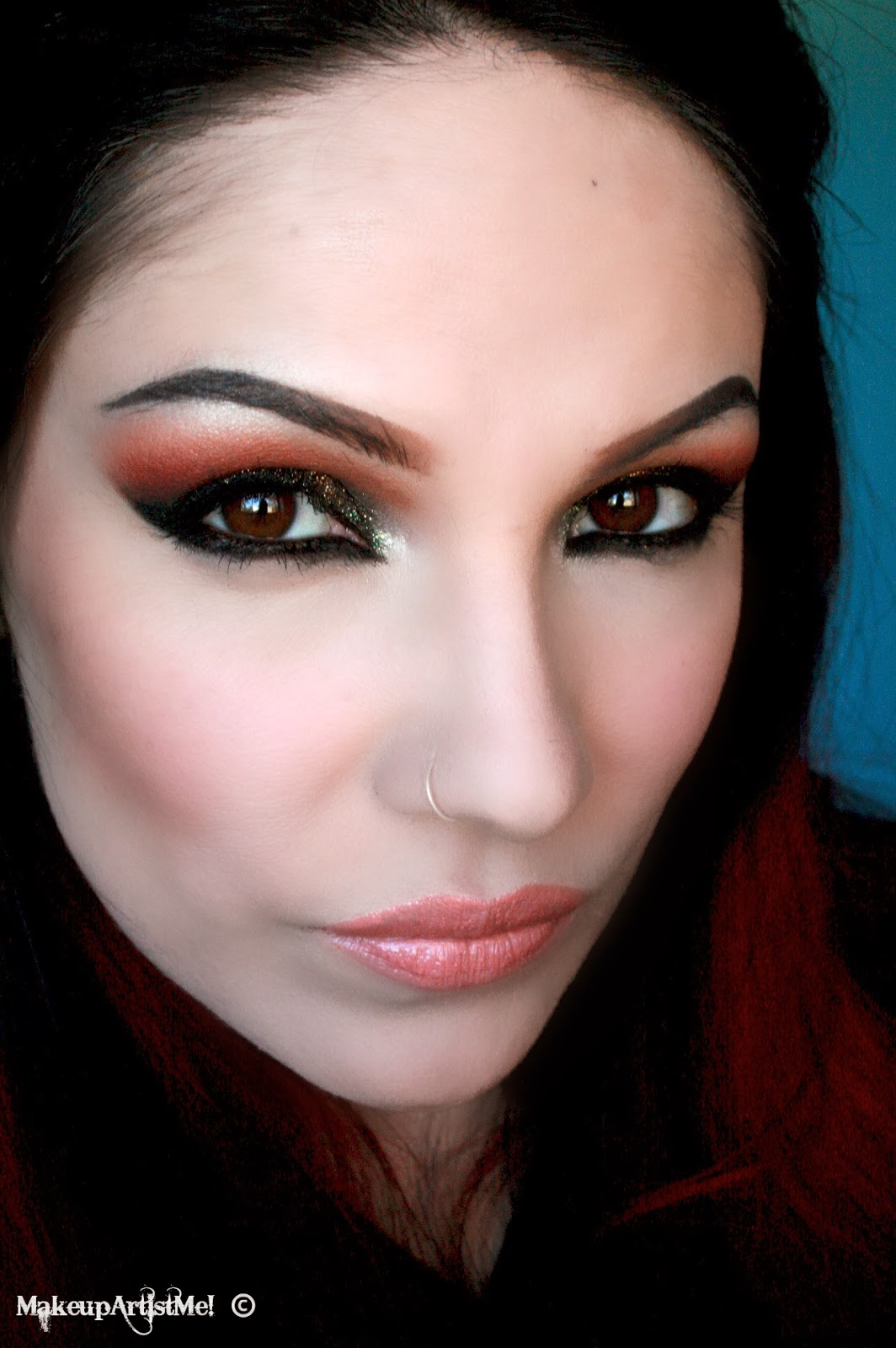 make up artist me light the night makeup tutorial. Black Bedroom Furniture Sets. Home Design Ideas