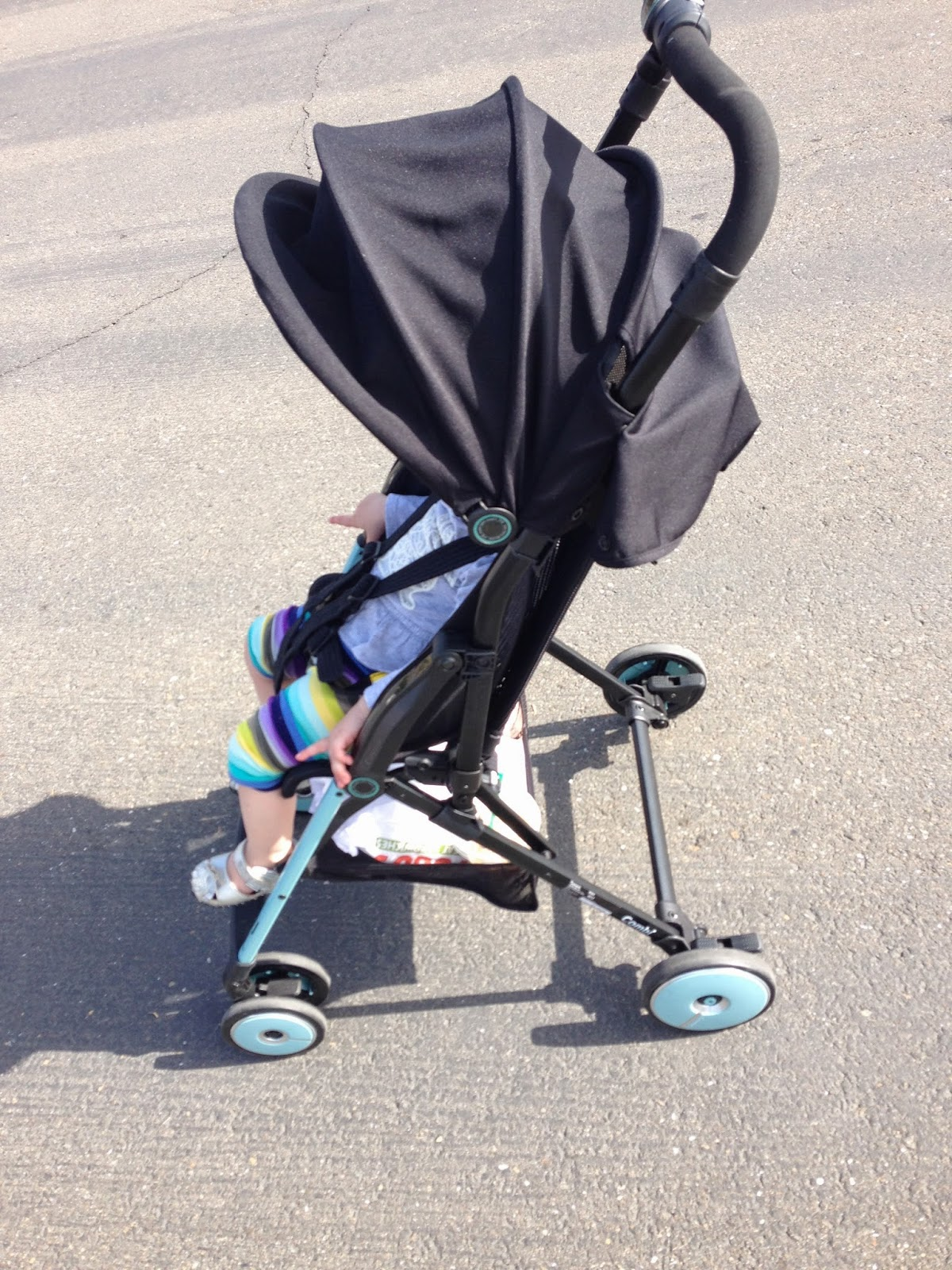 allaboutbabysworld: Combi F2 Stroller Review