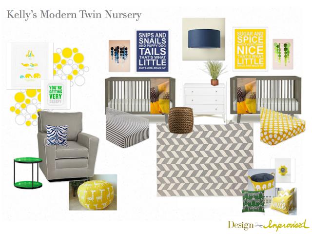 Modern-twin-nursery