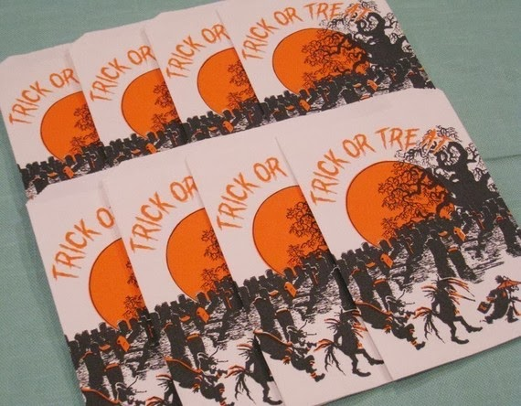 Vintage Halloween Candy Bags From Boston Bag Lady