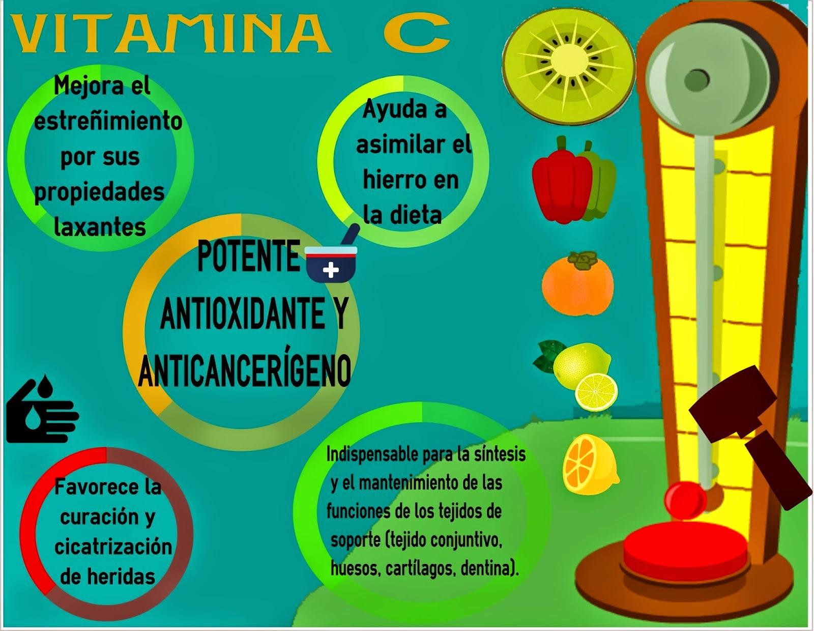 Infografía Vitamina C