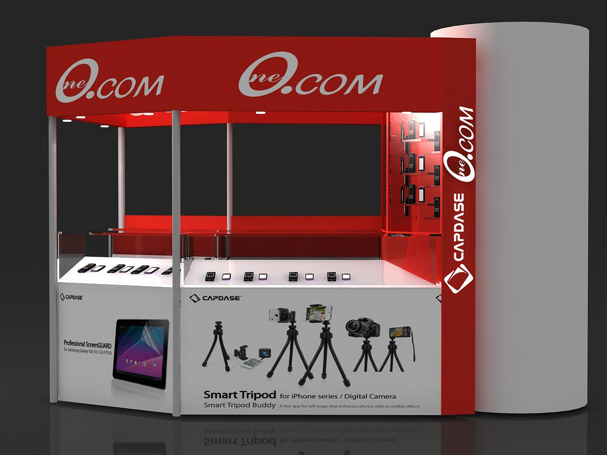 Exhibition Stall Invitation : Mobile display kiosk amit chand exhibition stall