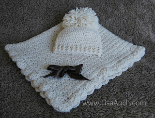 crochet baby blanket pattern-crochet baby hat pattern