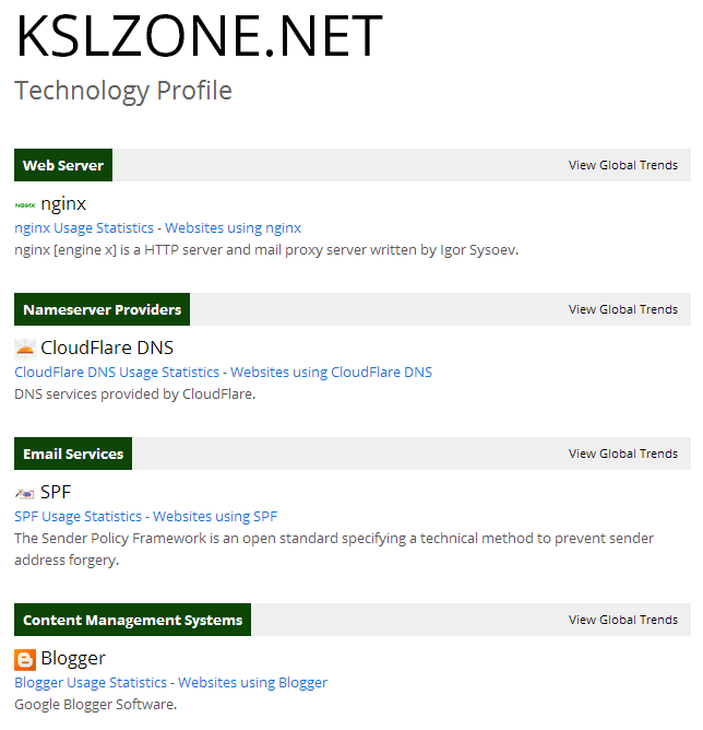 Dịch vụ của KslZone.NET