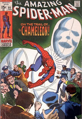 Amazing Spider-Man #80, the Chameleon