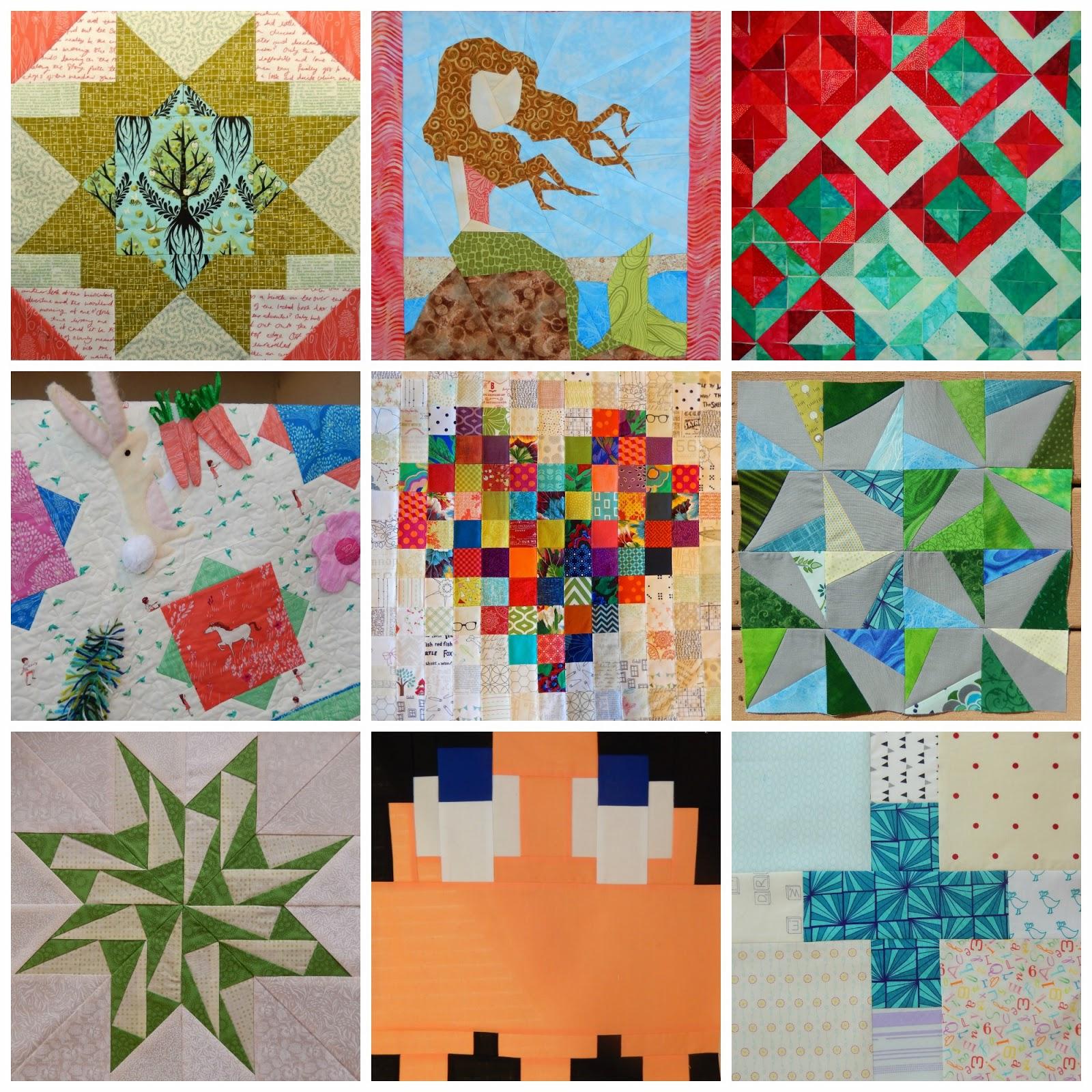 Afton Warrick @ Quilting Mod www.quiltingmod.blogspot.com Project Mosaic