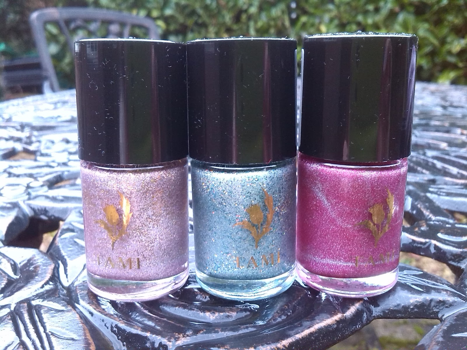 Tami Nail Polishes Scottish Showcase Collection