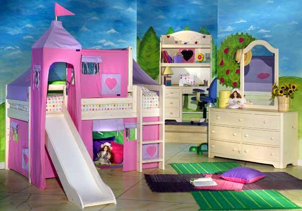 Magnifique 2 id es pour les chambres d 39 enfants int rieur d cor decoration interior for Idee chambre fille 8 ans