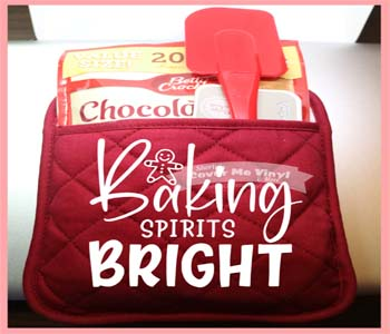 Baking Spirits bright Oven Mitt
