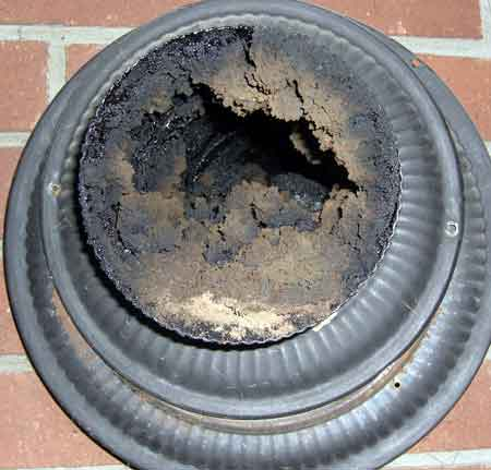 how to clean creosote out of chimney