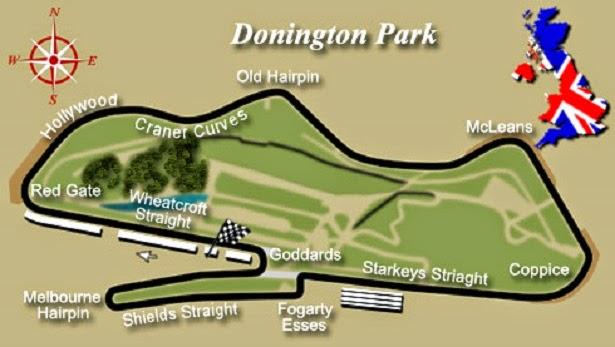 circuito de Donington Park caracteristicas