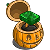 FarmVille Haunted Hollow Gold Emerald Unwither Ring