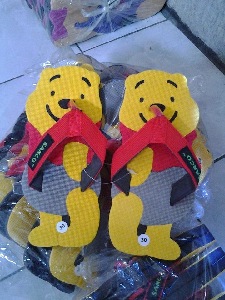 Motif Sandal Sancu Baby Bear