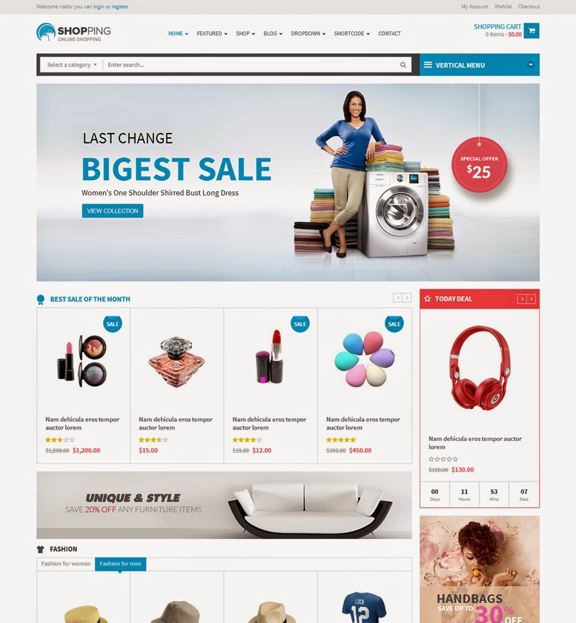 30 of The Best WordPress eCommerce Themes For 2014