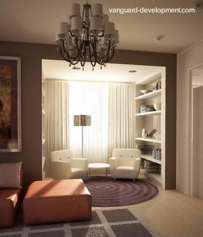 Arquitectura de casas interior de la casa moderna for Imagen de interior de casas