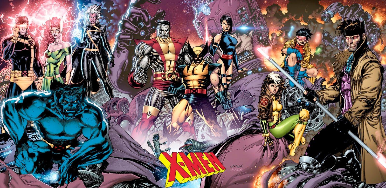 As melhores HQs dos X-Men por década