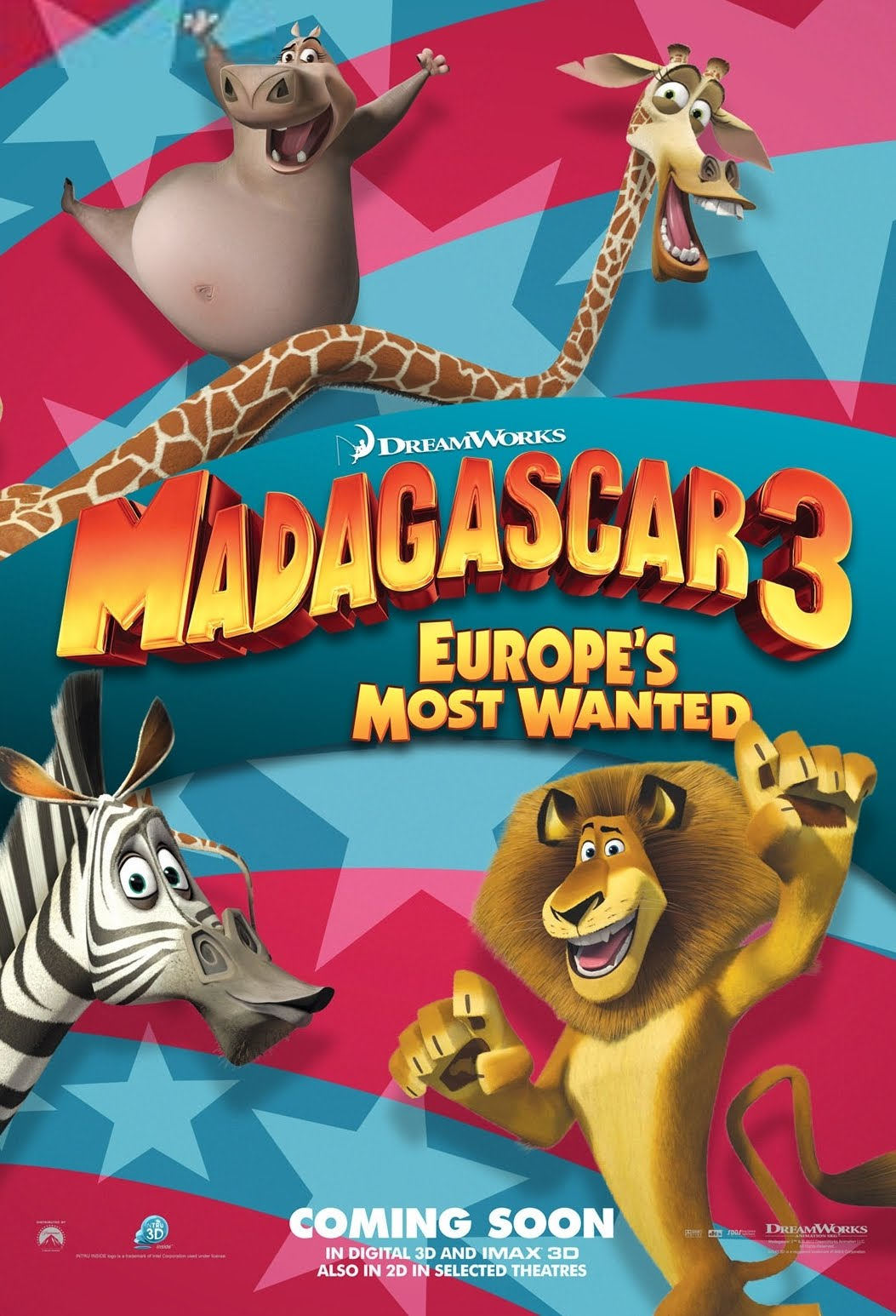 Watch Madagascar 3 Europe s Most Wanted Movie online FREE