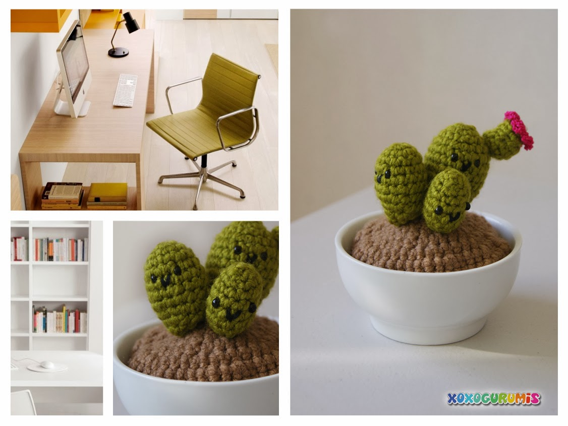 Xoxogurumis tejidos hechos a mano decora tu oficina for Decora tu oficina