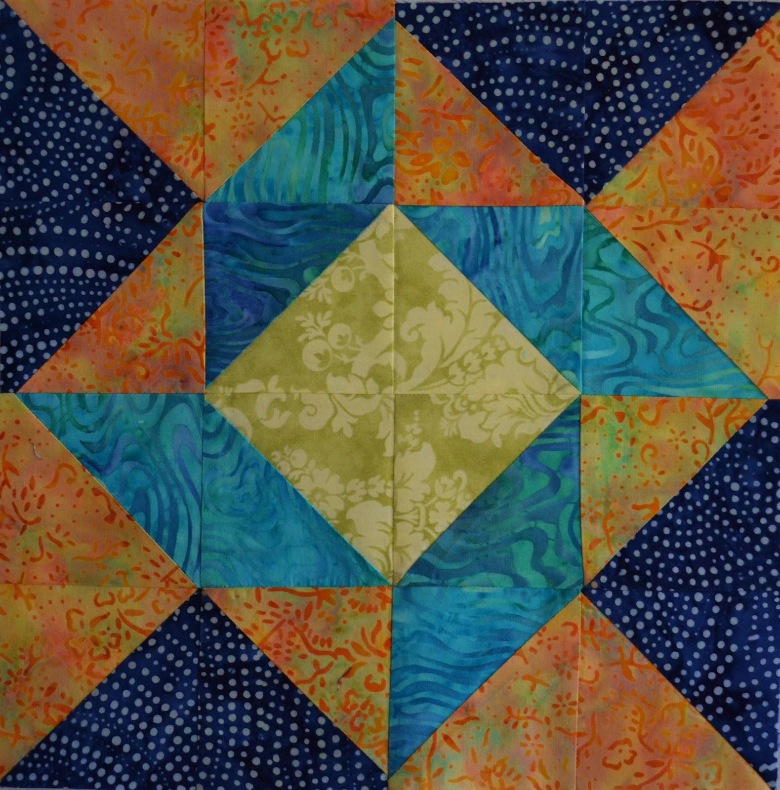 Quilting Designs For Blocks : Chock-A-Block Quilt Blocks: Balkan Puzzle