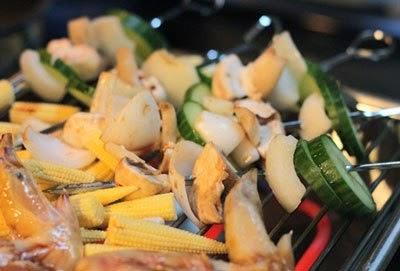 Cánh gà nướng rau củ thơm ngon dễ làm 3