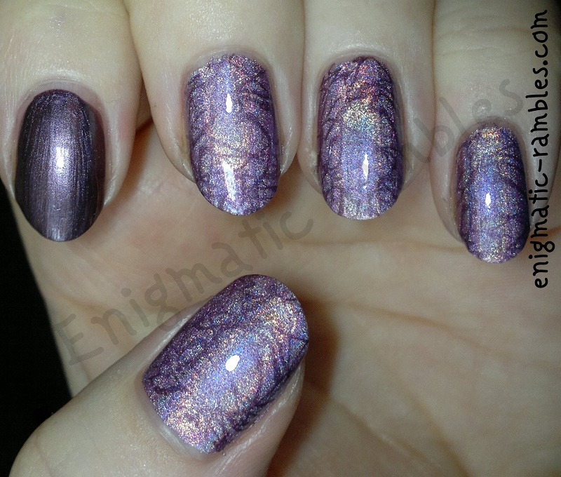 Purple-Pink-Holographic-Squiggle-Stamped-Nails-stamping-nail-art-konad-m70-moyra-gravity-255