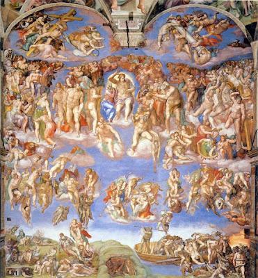 La Capilla Sixtina. Ciudad del Vaticano. Roma. Turismo en Roma. Que visitar en Roma. Museo Vaticano. El Juicio Final de la Capilla Sixtina