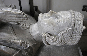 Effigy of Henry the Young King adorning his tomb, Rouen Cathedral