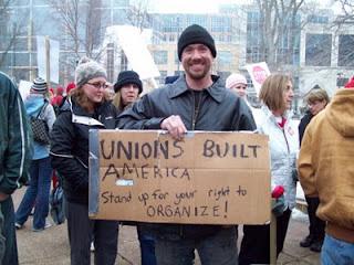 Unions built America