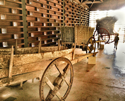 Carro antiguo en Pueblo de Asturias