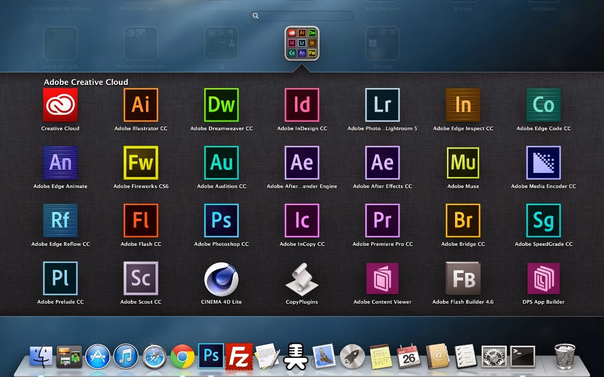 Adobe CC 2014 All Products For Mac OS X Full Version Free