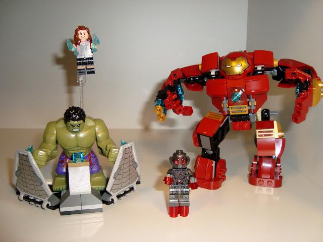 LEGO MARVEL THE HULK BUSTER SMASH 76031 Lego-marvel-hulkbuster001