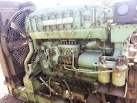 Yanmar marine diesel generators, Yanmar 6 LAAL DT-1, used, reconditioned, for sale