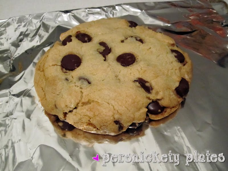 Giant Chocolate Chip Cookie...for one (or two)