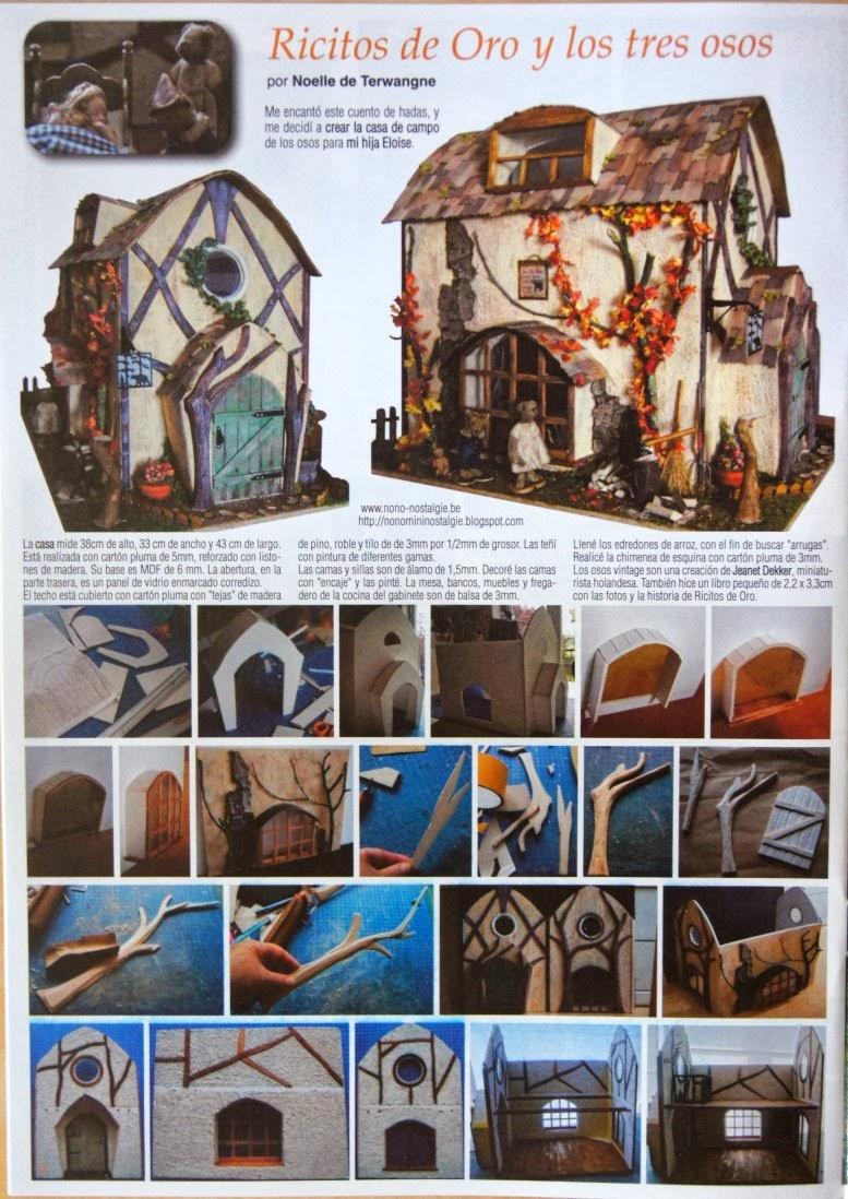 Nono mini nostalgie parutions mes creations dans magazine - Des limaces dans ma maison ...